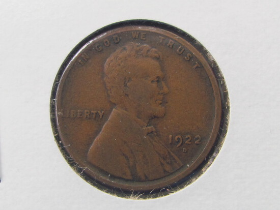 1922-D Lincoln Penny