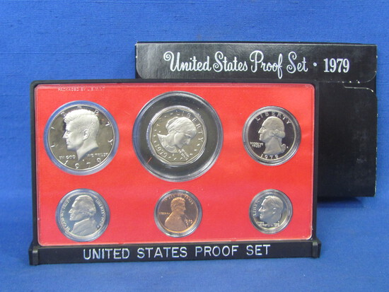 United States Proof Set – 1979 S – in Original Government Packaging