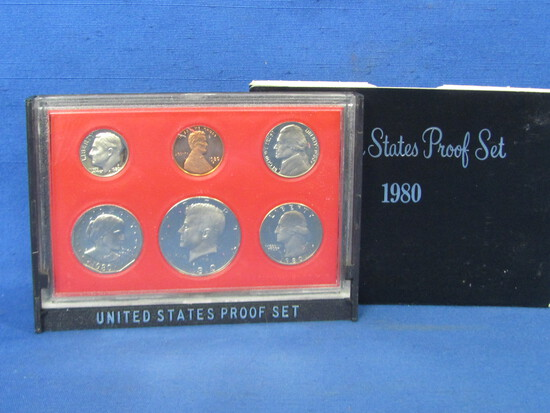 United States Proof Set – 1980 S – in Original Government Packaging