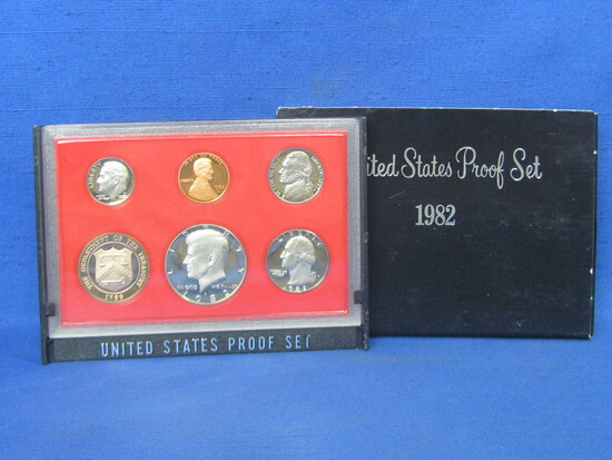 United States Proof Set – 1982 S – in Original Government Packaging