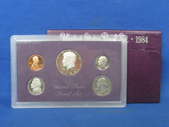 United States Proof Set – 1984 S – in Original Government Packaging