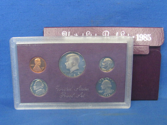 United States Proof Set – 1985 S – in Original Government Packaging