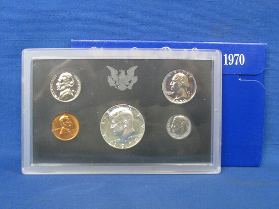 United States Proof Set – 1970 S – in Original Government Packaging