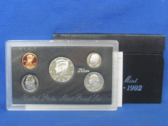 United States Proof Set – 1992 S – in Original Government Packaging