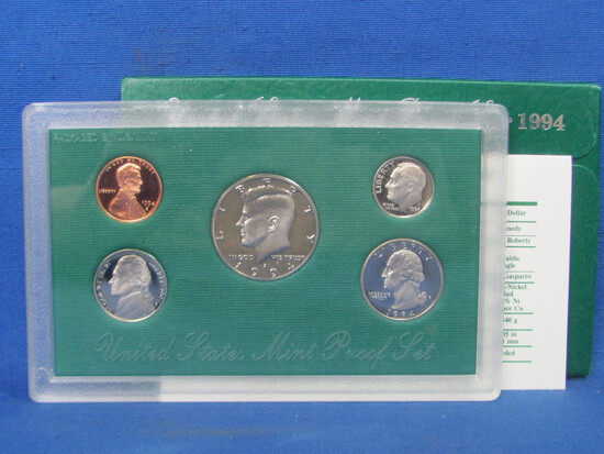 United States Proof Set – 1994 S – in Original Government Packaging