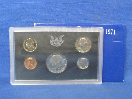 United States Proof Set – 1971 S – in Original Government Packaging