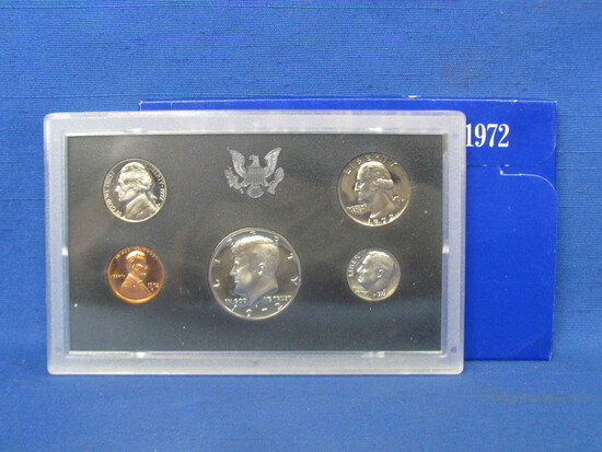 United States Proof Set – 1972 S – in Original Government Packaging
