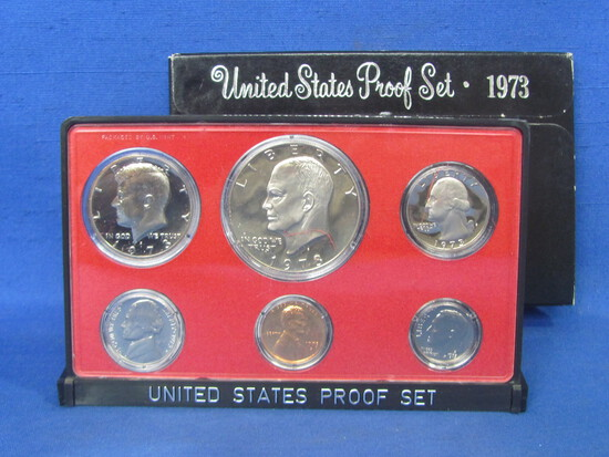 United States Proof Set – 1973 S – in Original Government Packaging