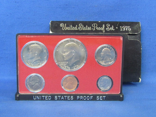 United States Proof Set – 1975 S – in Original Government Packaging