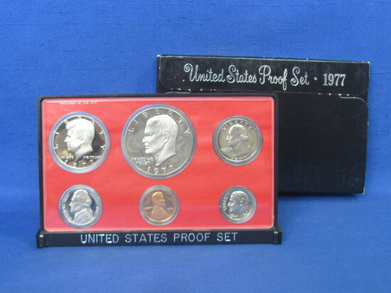 United States Proof Set – 1977 S – in Original Government Packaging