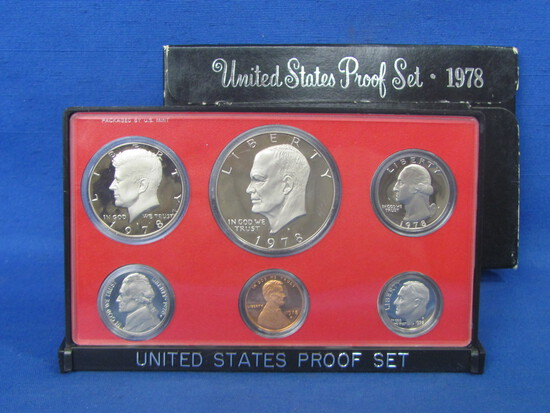 United States Proof Set – 1978 S – in Original Government Packaging