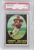 Jim Brown 1958 Topps Rookie PSA