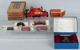 Set of Original Plasticville O Gauge FA-3 FIRE ALARM BOX No Glue Unbroken 8