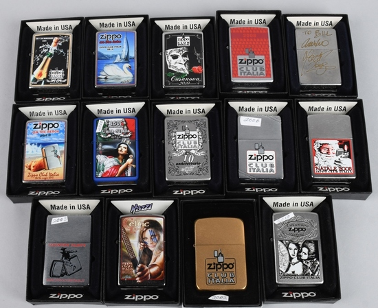 14- ZIPPO CLUB ITALIA LIGHTERS