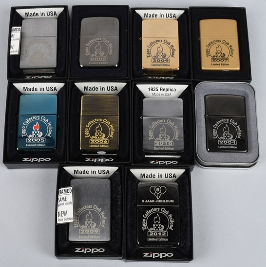 14- ZIPPO CLUB HOLLAND LIGHTERS