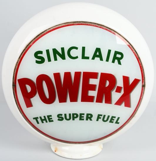 "Sinclair Power-X 13.5"" Globe Lenses on Glass"