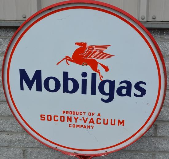 Mobilgas w/Pegasus Socony-Vacuum Company Porcelain