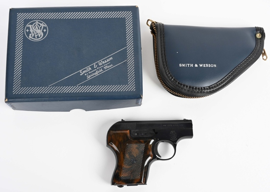 BOXED S&W MODEL 61-3 ESCORT .22 PISTOL