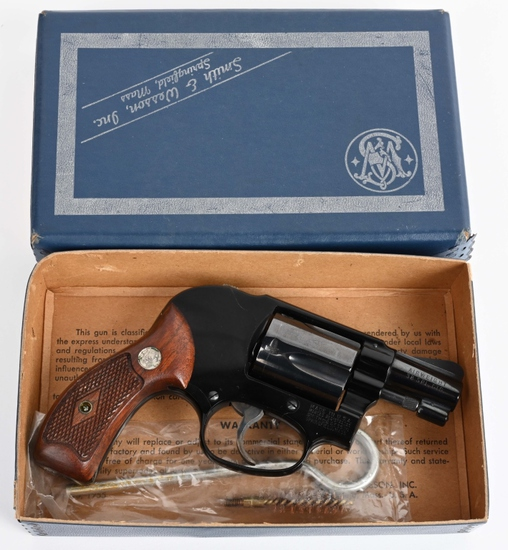 UNFIRED S&W MODEL 38 REVOLVER