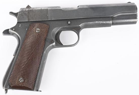 WW2 REMINGTON RAND 1911-A1 .45 PISTOL