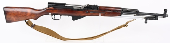 RUSSIAN M45 SKS WITH BLADE BAYONET DATED 1950.