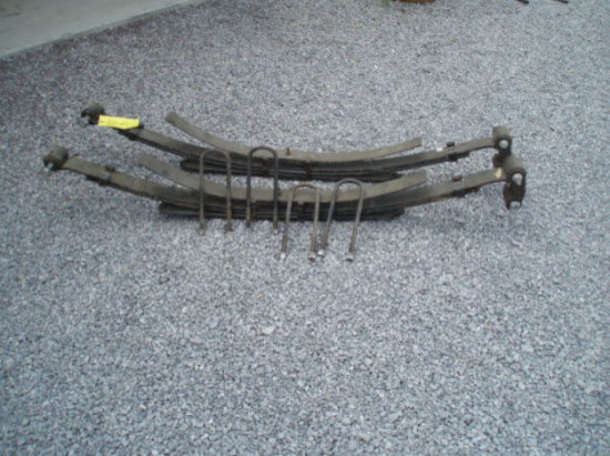 2011 Ford F350 Truck Springs