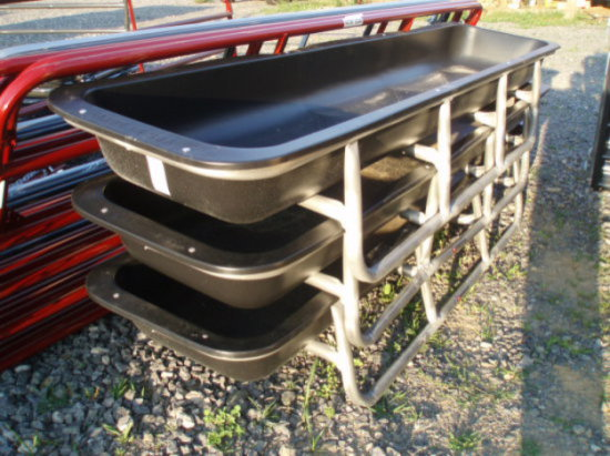 10ft Feed bunks Tarter