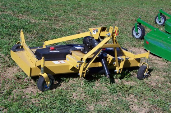 unused 6ft County Line Finish Mower