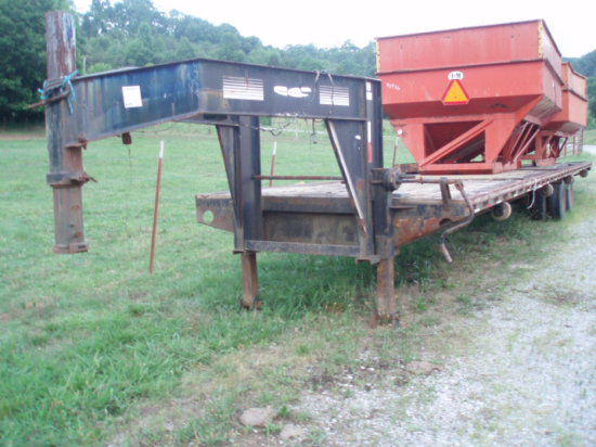 40ft Gooseneck Flatbed