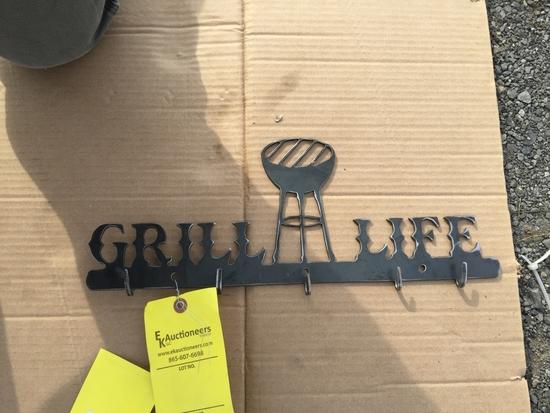 GRILL LIFE WALL HOOKS