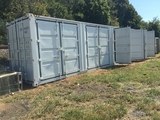 40' HQ SHIPPING CONTAINER W/4SIDE&1REAR DOOR