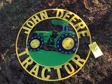 JOHN DEERE TRACTOR SIGN