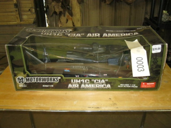 "UH1C ""CIA"" Air America Airplane Model"