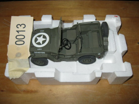 WWII Jeep Replica