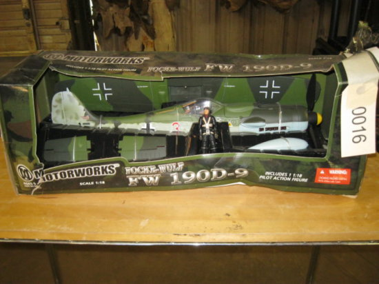 Focke-Wulf 190D-9 Airplane Model