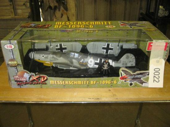 Messerschmitt BF-109G-6 Airplane Model