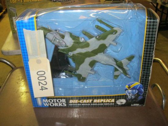 Die-Cast Airplane Model