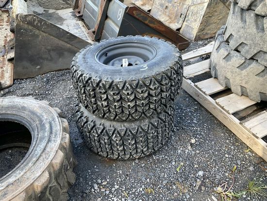 25 X 10.00-12 TIRES AND WHEELS