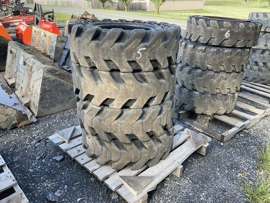 30 X 10-16 SOLID TIRES AND WHEELS