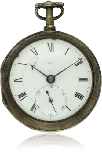 A FINE & RARE SOLID SILVER JOHN ARNOLD & SON FUSEE CHRONOMETER POCKET WATCH