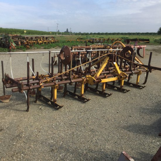 Marvin Rowmaster 6-Row 3-Pt Cultivator Sled