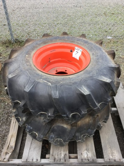 12.4 x 16 Tractor Tires & Rims