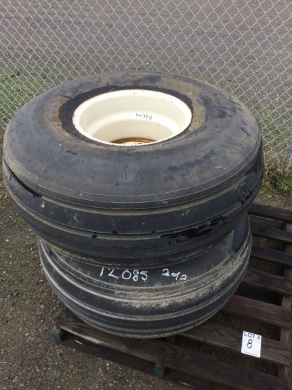 Pallet of Implement Tires