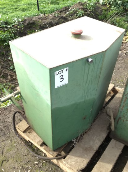 50 Gallon Auxiliary Tractor Fuel Tank