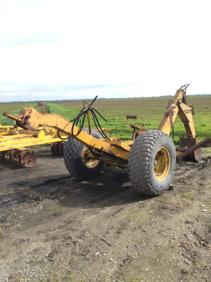 Wain-Roy Tractor Pull Backhoe