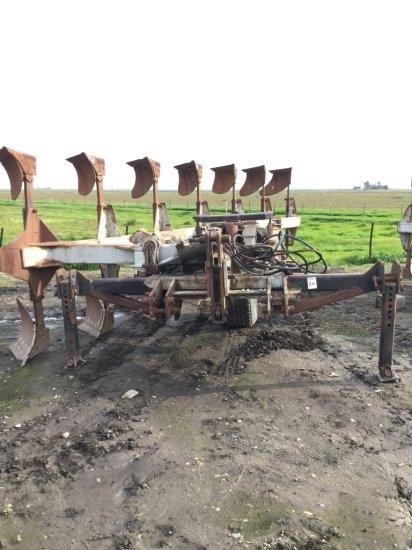 Wilcox 3-Pt 7 Bottom Rollover Plow