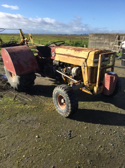 Massey Ferguson 135 Tractor, Diesel
