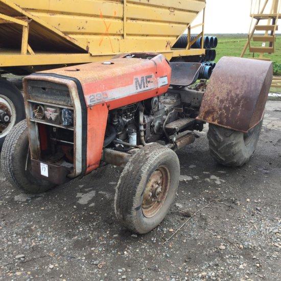 Massey Ferguson 235 Tractor, Diesel