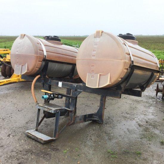 Set of 200 Gallon Poly Side Tanks