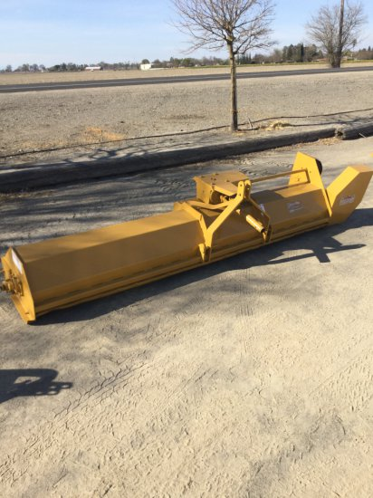 10' Offset PTO Flail Mower